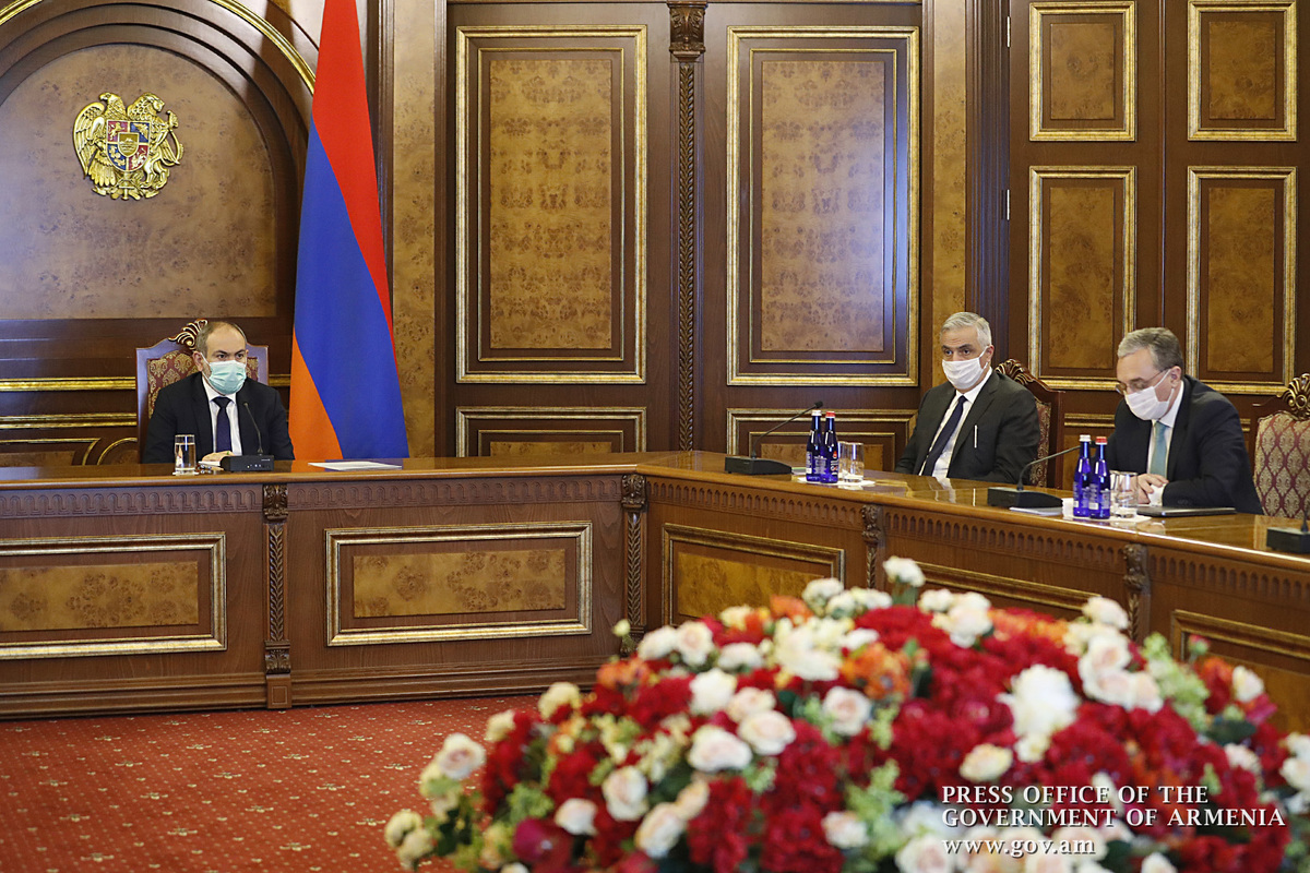 Премьер Армении дал конкретные поручения ответственным за внешнюю политику