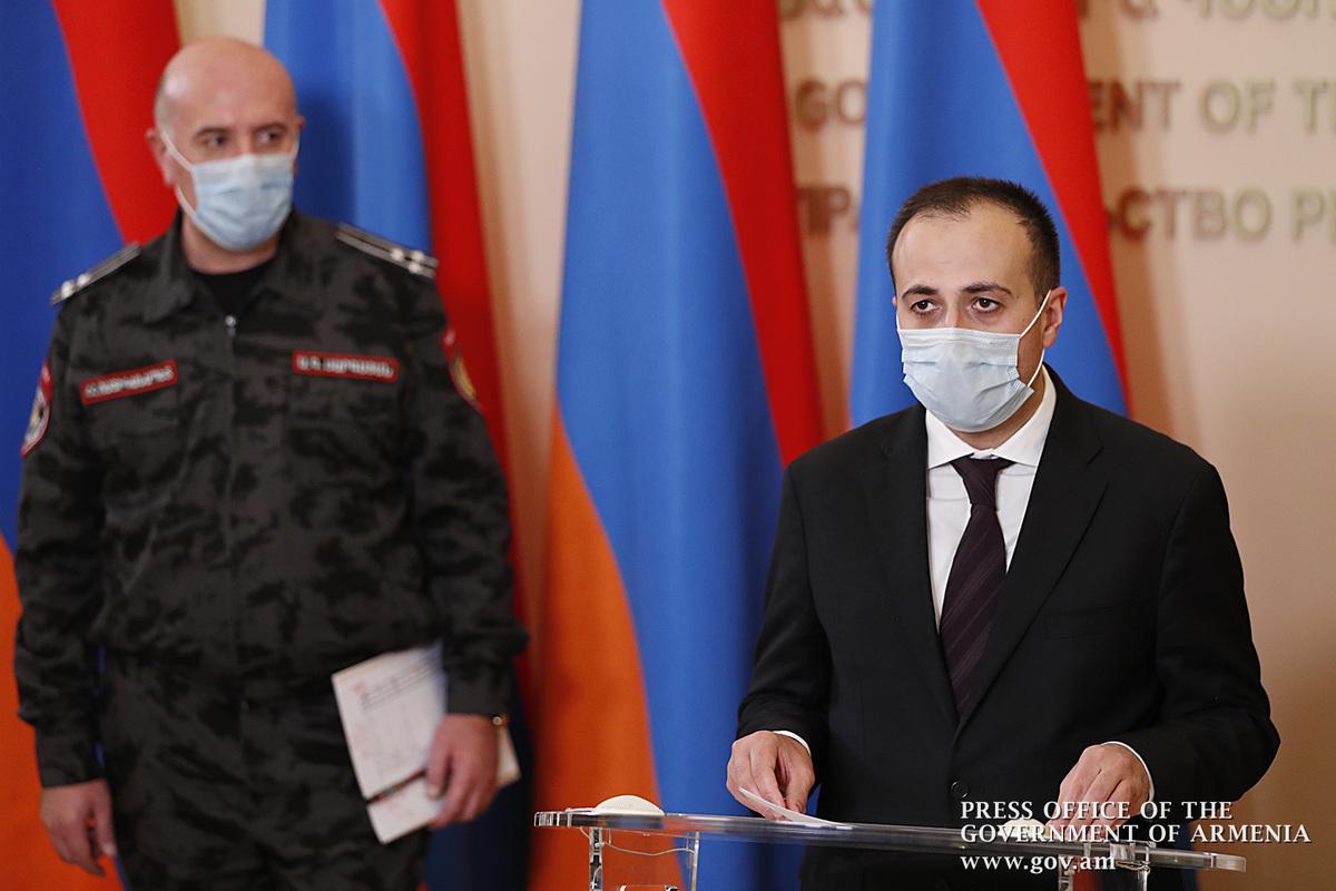Глава Минздрава: Ситуация с коронавирусом в Армении продолжает оставаться напряженной
