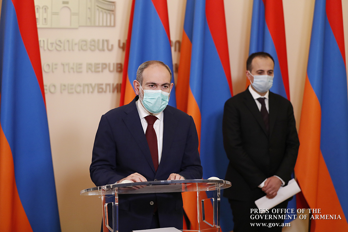 Никол Пашинян: Самым большим очагом распространения коронавируса является Ереван