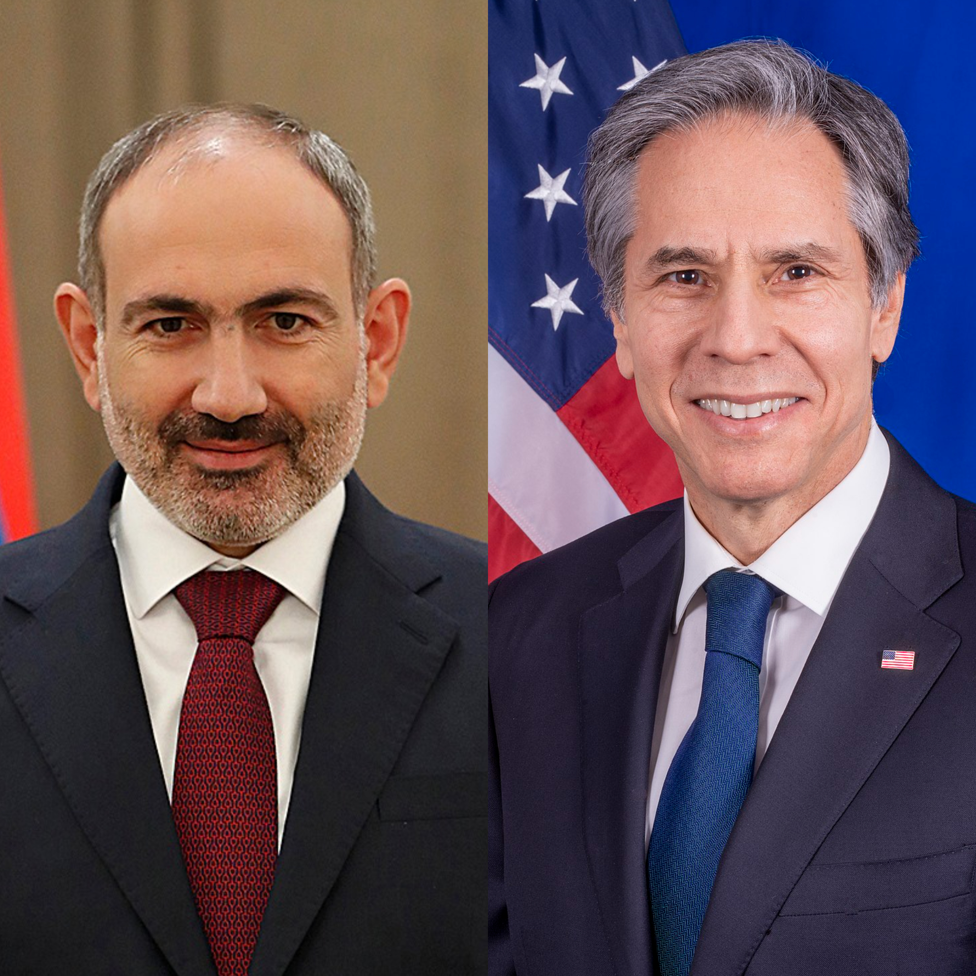 PM Pashinyan holds phone conversation with U.S. Secretary of State Antony J. Blinken