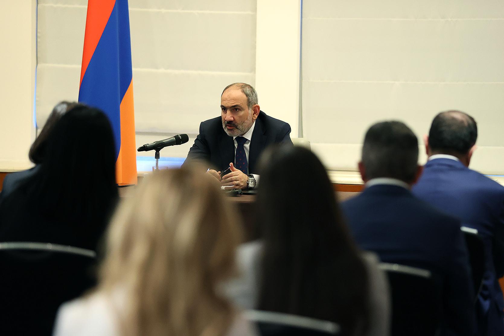 Премьер-министр Армении Никол Пашинян выразил удовлетворение встречей с Владимиром Путиным