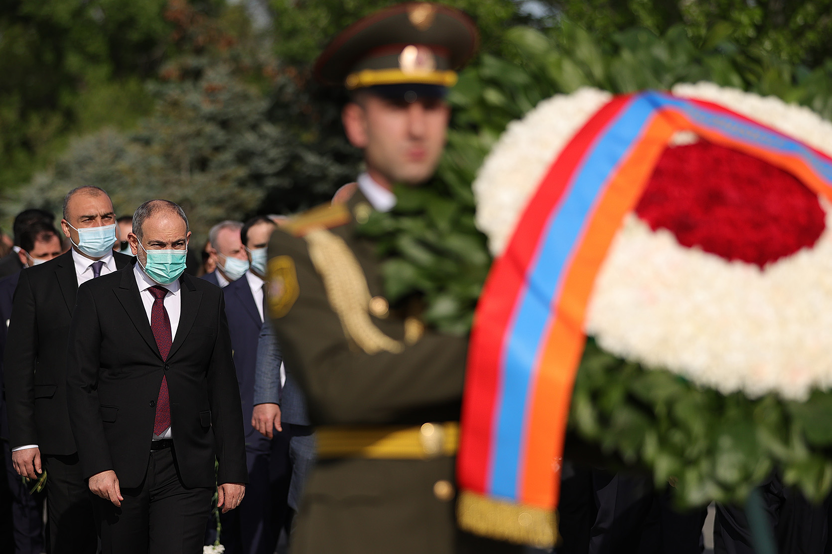 Премьер-министр Никол Пашинян в Цицернакаберде почтил память жертв Геноцида армян
