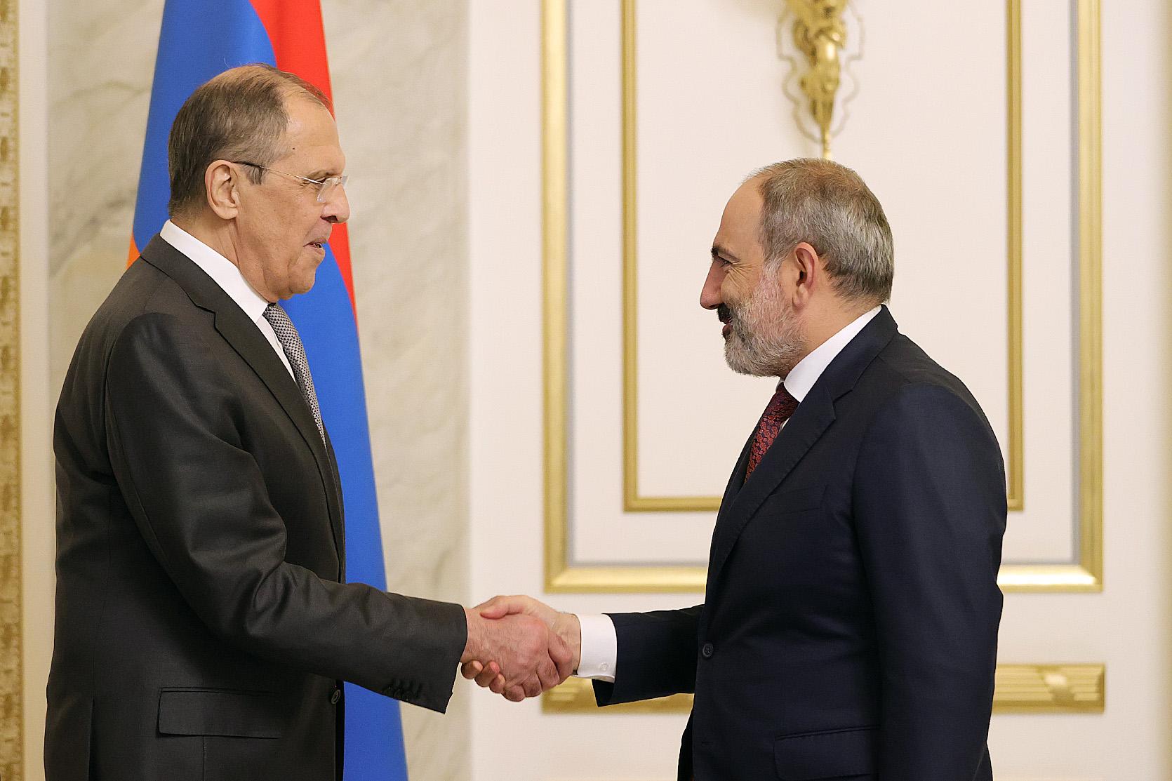 Россия и Армения подтвердили сохранение твердого настроя на укрепление союзнических отношений, выступающих важным фактором мира и стабильности на Южном Кавказе | МИД РОССИИ