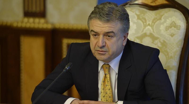 Республиканская партия Армении выдвинула кандидатуру Карена Карапетяна на пост премьера