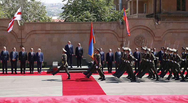 La rencontre de haut niveau entre les Premiers ministres arménien et géorgien a eu lieu à Erevan
