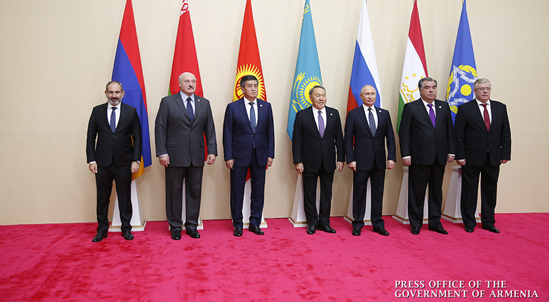 Nikol Pashinyan attends CSTO Collective Security Council meeting in Astana