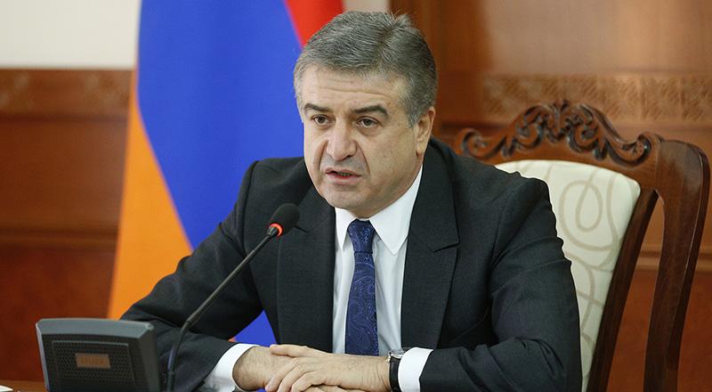 Карен Карапетян: Премьер Армении может быть избран только конституционным путем