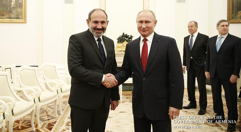 La rencontre entre Nikol Pashinyan et Vladimir Poutine a eu lieu à Moscou