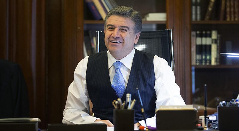 Карен Карапетян пожелал журналистам работать на усиление и развитие Армении