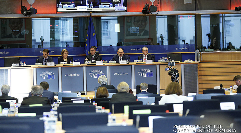 Վարչապետը ելույթ է ունեցել Եվրոպական խորհրդարանի արտաքին հարաբերությունների հանձնաժողովում