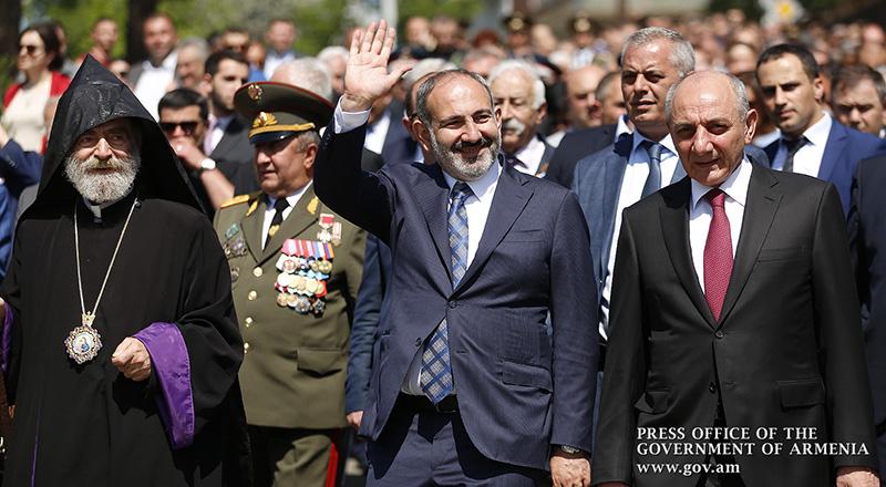 Le Premier ministre a participé aux festivités consacrées aux Fêtes de mai en Artsakh