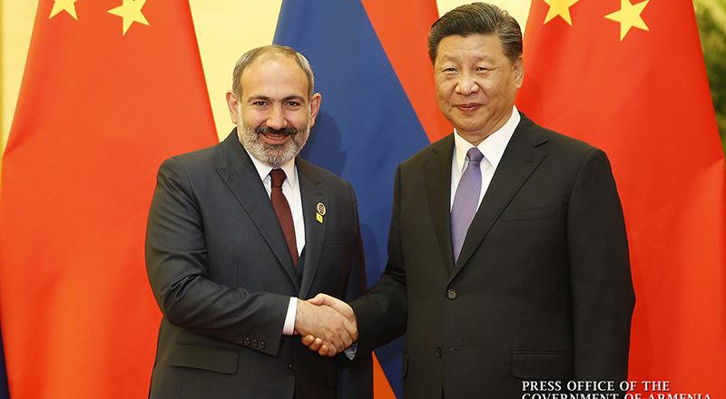 Nikol Pashinyan met with PRC President Xi Jinping