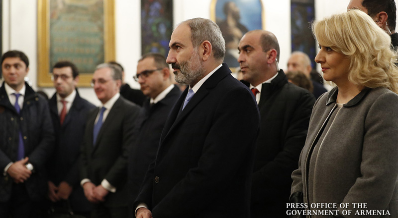 PM meets with representatives of the Armenian community in Milan