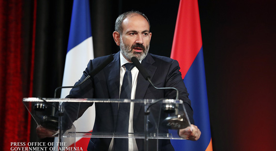 Nikol Pashinyan's Meeting with Armenian Community in France