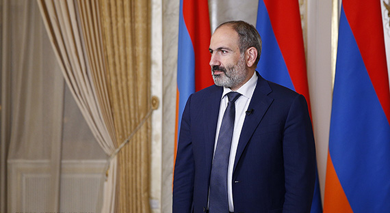 Message du Premier ministre de la République d'Arménie Nikol Pashinyan au peuple