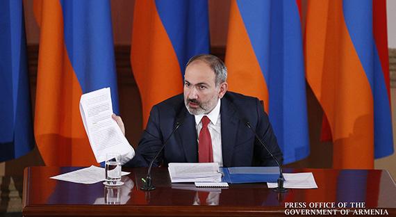Пресс-конференция премьер-министра Никола Пашиняна
