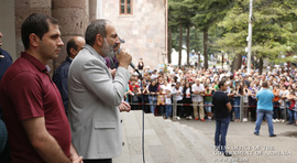 Nikol Pashinyan's remarks at the meeting with residents of Idjevan