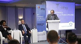 L'intervention du Premier ministre Nikol Pashinyan à la 11e conférence des organisations internationales non gouvernementales de la Francophonie