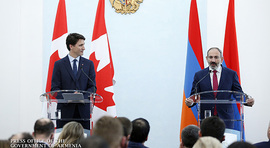 Joint Press Conference by RA Prime Minister Nikol Pashinyan and Canada Prime Minister Justin Trudeau