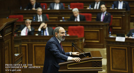 Remarks by Prime Minister Nikol Pashinyan, delivered during the presentation of the Government Program at the National Assembly of the Republic of Armenia