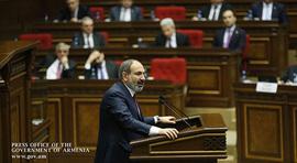 Речь Никола Пашиняна в Национальном Собрании на представлении программы правительства