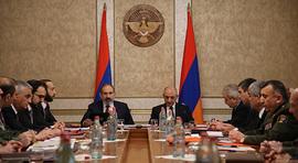 Речь Никола Пашиняна на совместном заседании Советов безопасности Армении и Арцаха