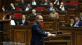 Report on Progress and Results of RA Government Program Implementation, delivered by Prime Minister Nikol Pashinyan at RA National Assembly