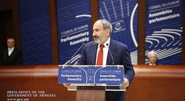 The Prime Minister delivered a speech at the PACE plenary session