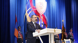 Prime Minister Nikol Pashinyan's remarks, delivered at Police Day-dedicated solemn session