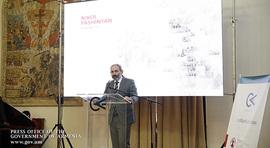 Նիկոլ Փաշինյանը ներկա է գտնվել Creative Armenia-ի մեկ ամյակին նվիրված միջոցառմանը