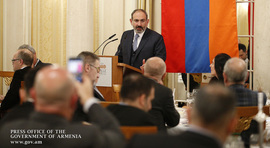 """If you are ready to make your move, come to Armenia, get rich and enrich"" – Nikol Pashinyan meets with Swiss businessmen in Zurich"
