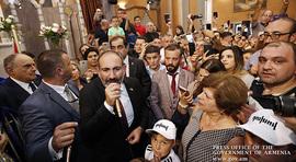 Վարչապետ Նիկոլ Փաշինյանի ելույթը Բրյուսելի հայկական եկեղեցում