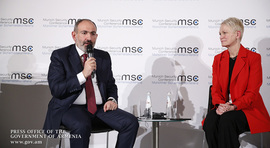 Nikol Pashinyan attends panel discussion on the Nagorno-Karabakh conflict on the sidelines of the Munich Security Conference