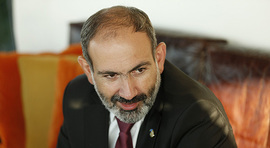 Prime Minister Nikol Pashinyan answers journalists' questions in Brussels