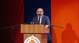 Nikol Pashinyan attends event dedicated to Armenian General Athletic Union Centenary