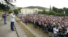 Nikol Pashinyan's remarks at the meeting with residents of Berd town in Tavush Marz