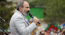 L'intervention de Nikol Pashinyan à Haghartsin
